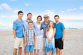 Series:Family Beach Reunion Vacation at public beach
