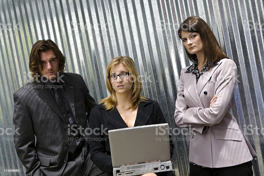Serious Business Associates royalty-free stock photo