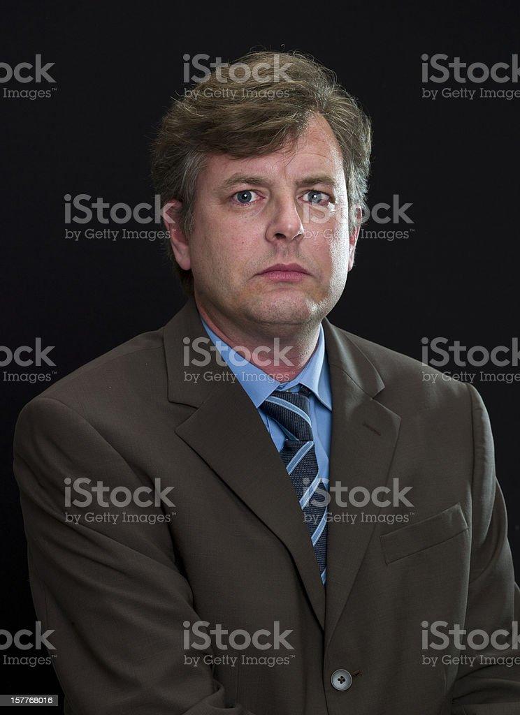 Serious Executive royalty-free stock photo