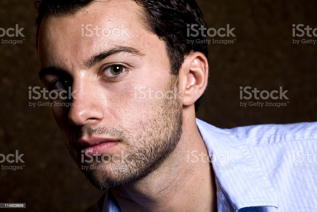 Serious Expression royalty-free stock photo