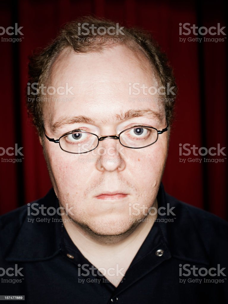 Serious guy royalty-free stock photo