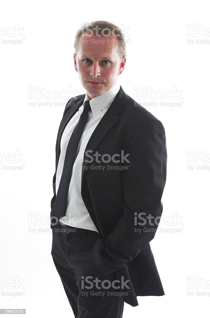 Serious man royalty-free stock photo