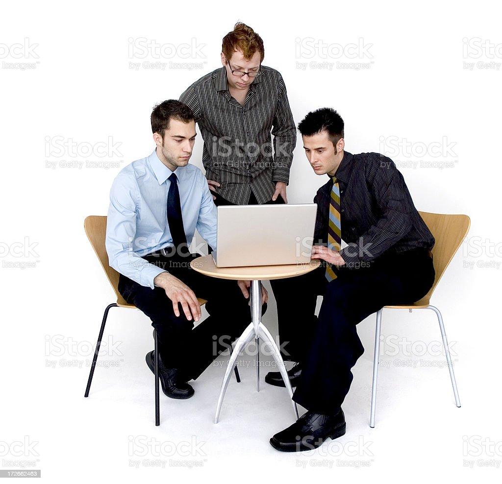 Serious Meeting stock photo