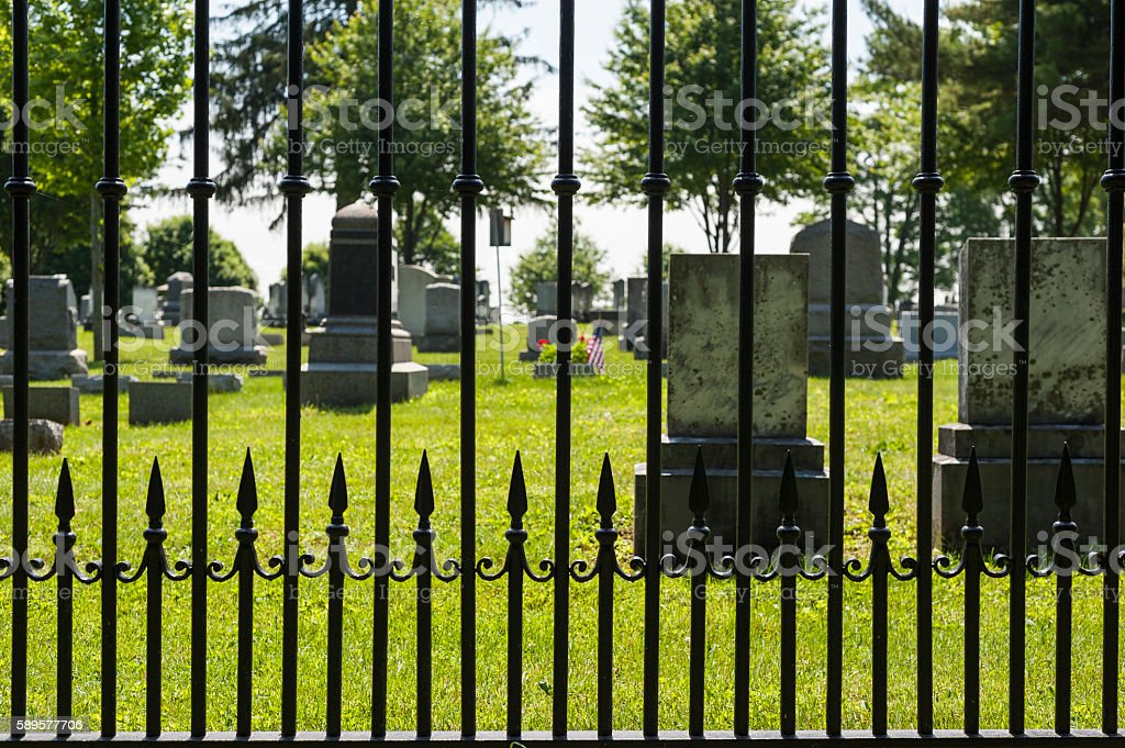 Graves stock photo