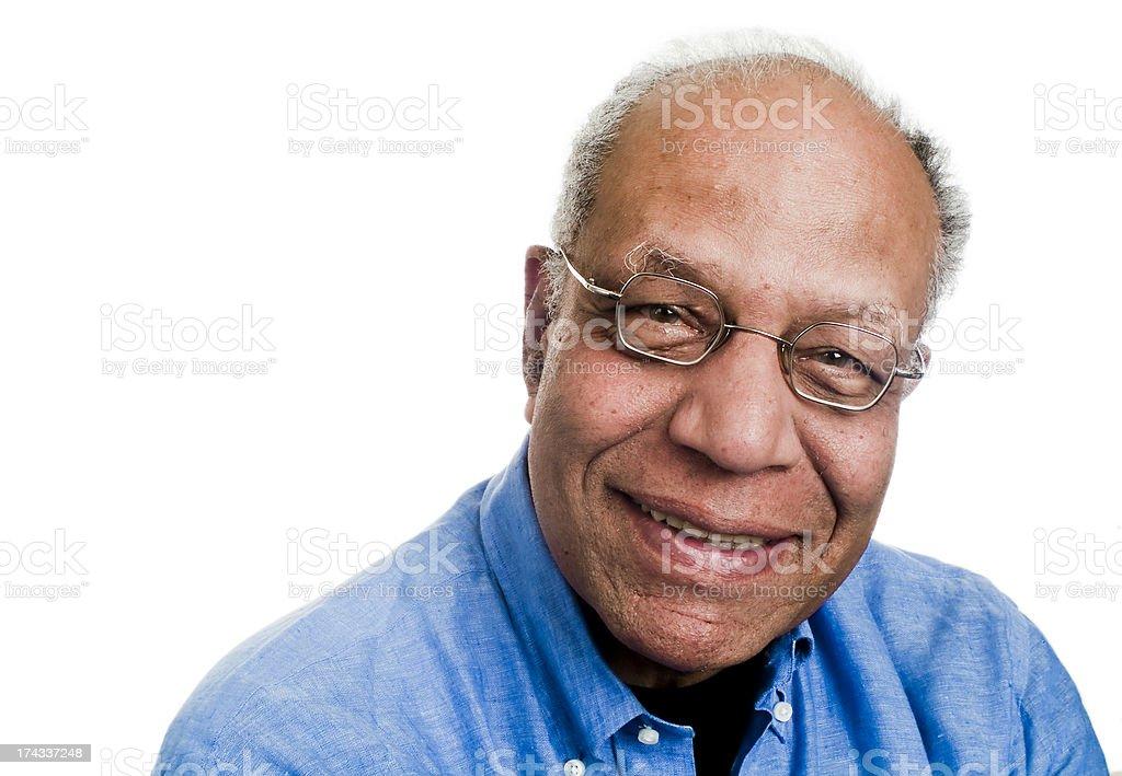 Serious Senior Man royalty-free stock photo