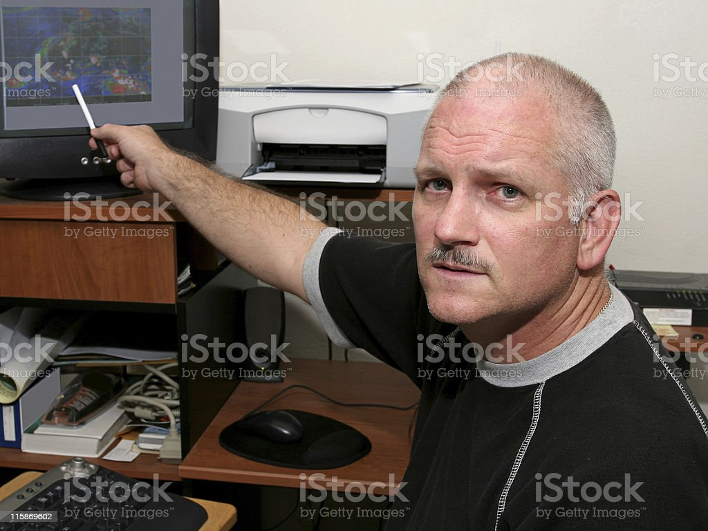 Serious Weather Conditions stock photo