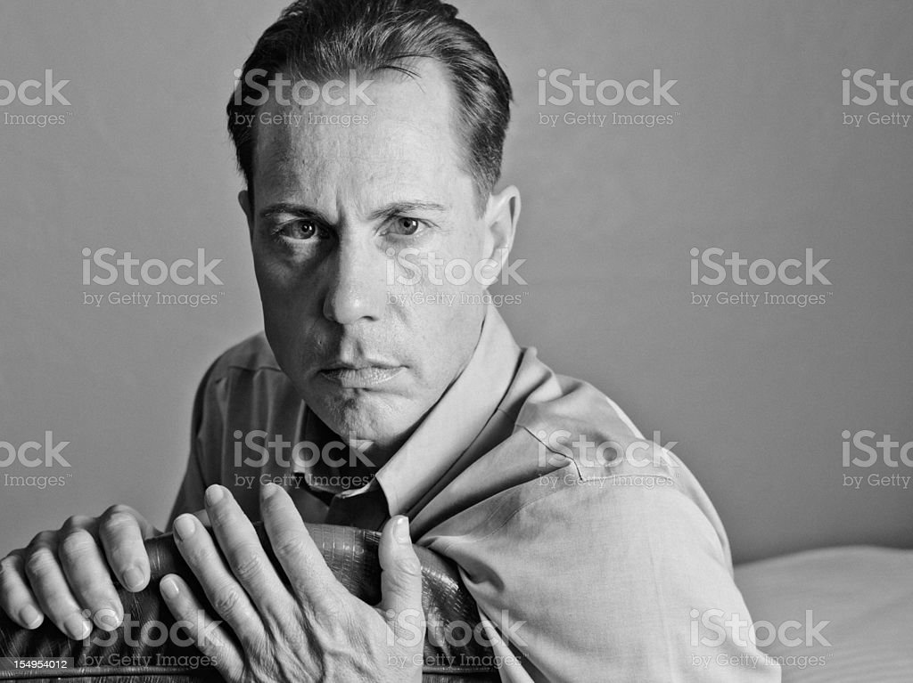 Seriousness stock photo