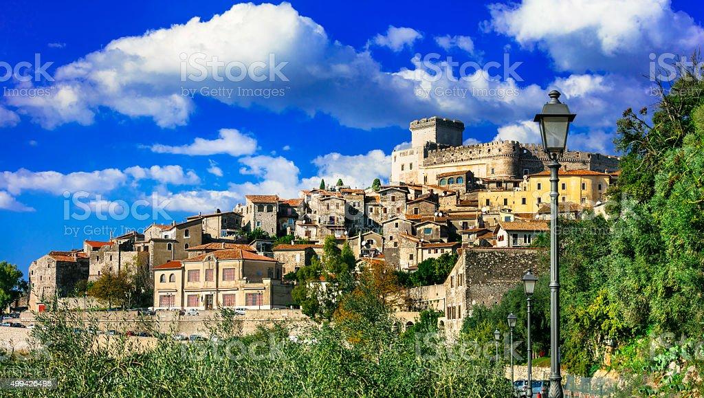 Sermoneta,Lazio,Italy. stock photo