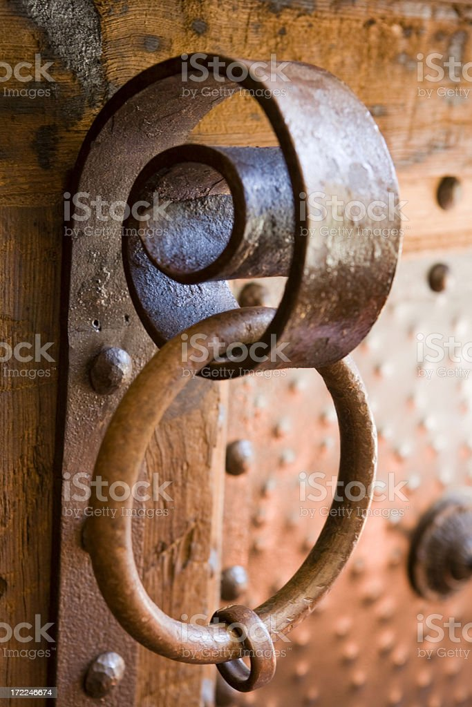 Serpentine Copper Hardware royalty-free stock photo