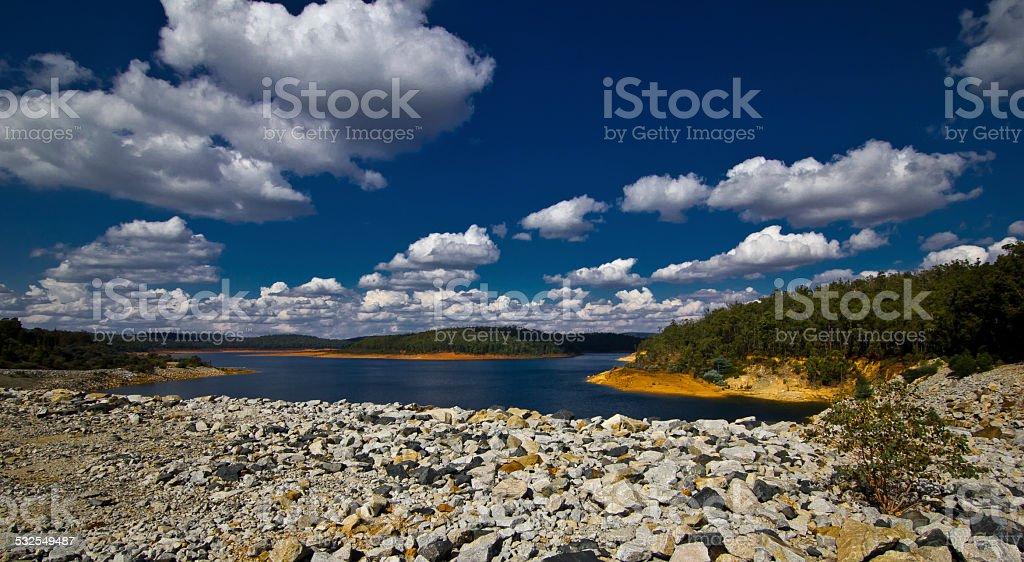 Serpentine Dam, Perth, Western Australia stock photo