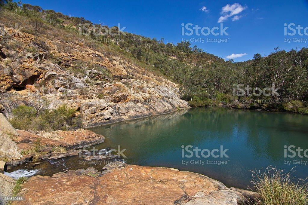 Serpentine Falls, Western Australia stock photo