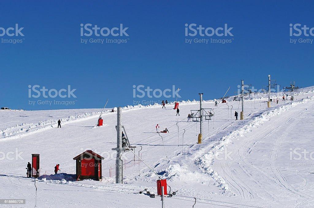 Serra da Estrela - Portugal stock photo