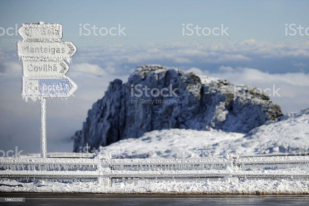 Serra da Estrela / Star Mountain royalty-free stock photo