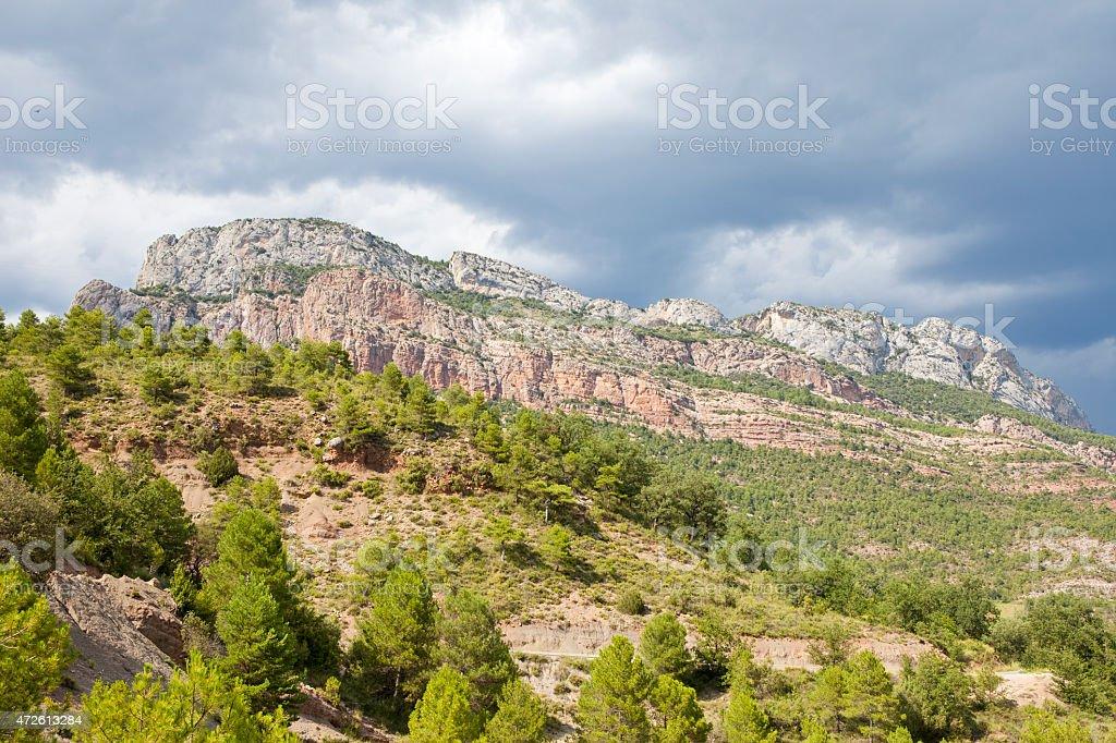 Serramoneda Lleida, Spain stock photo