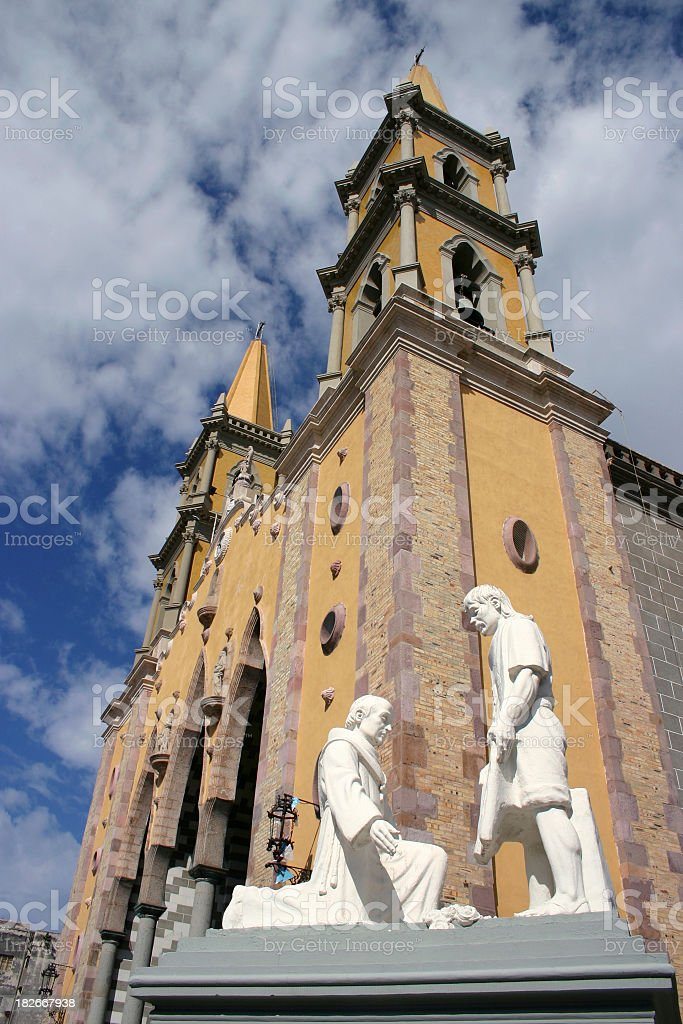 Servant at the Cathedral royalty-free stock photo
