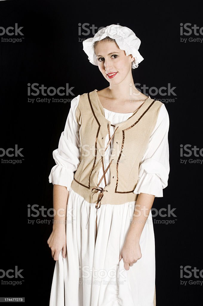 Servant girl royalty-free stock photo