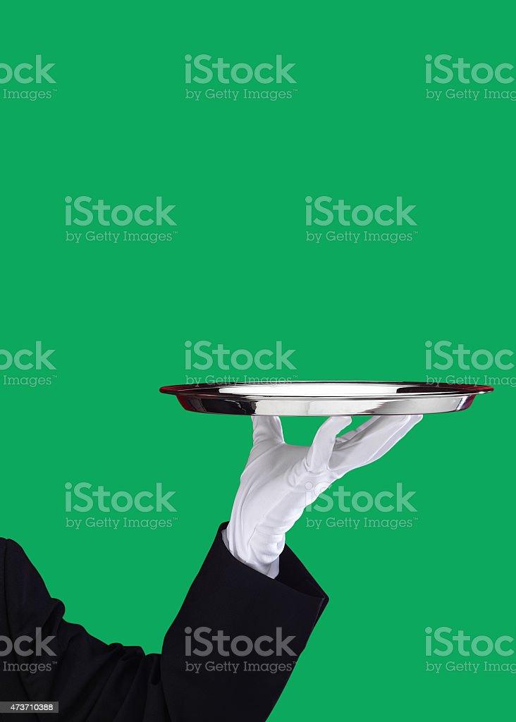 Servant stock photo