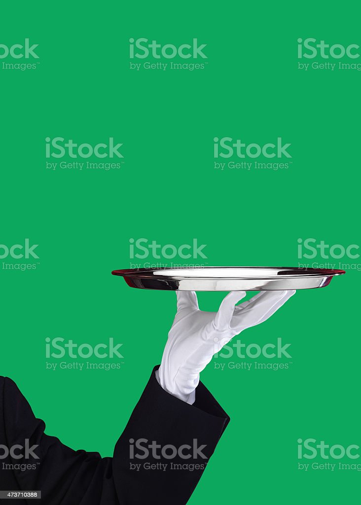 Servant stock photo