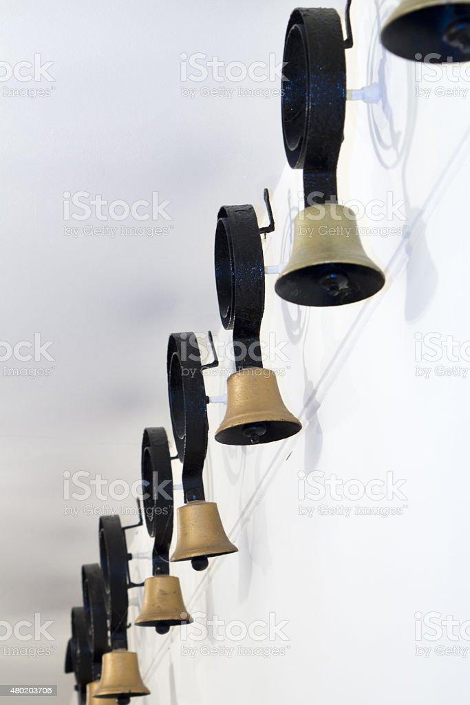 Servants bells stock photo