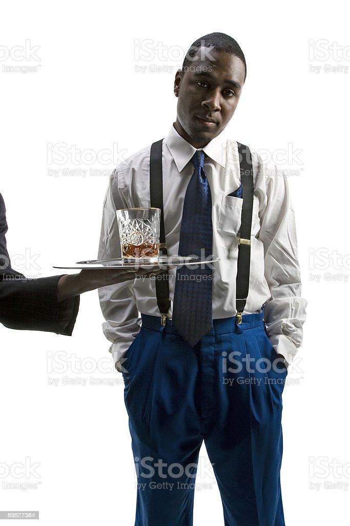 Serve Me a Drink stock photo