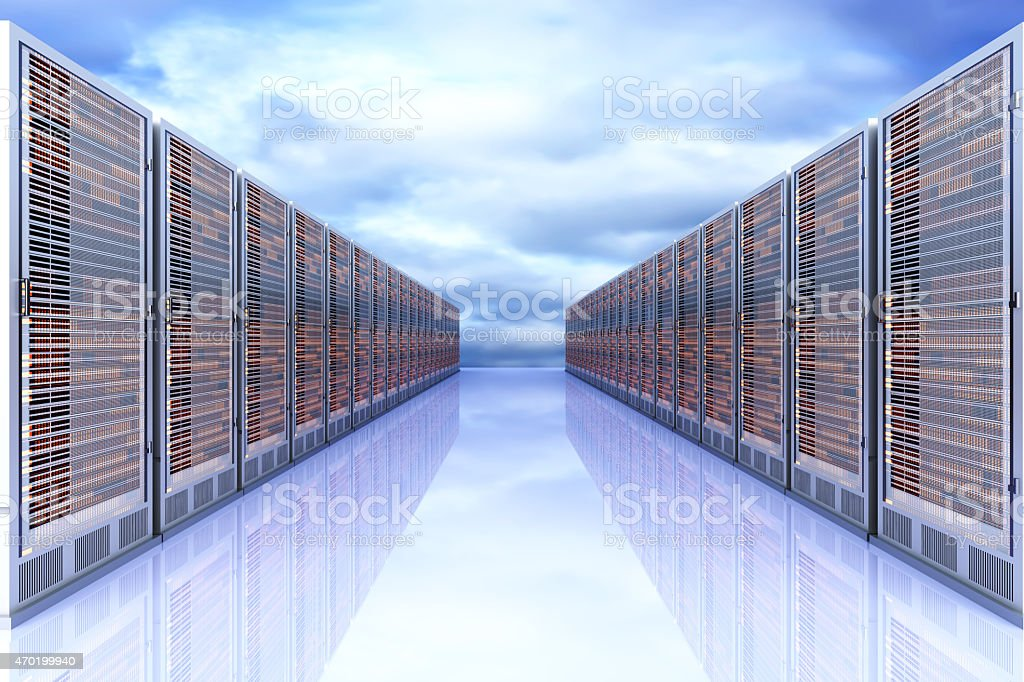 Server Cloud stock photo