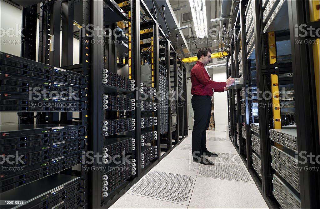 Server expansion stock photo