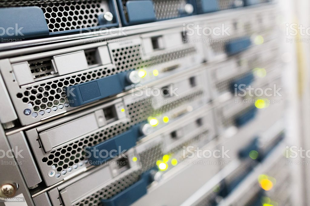 Server Hard Drive stock photo