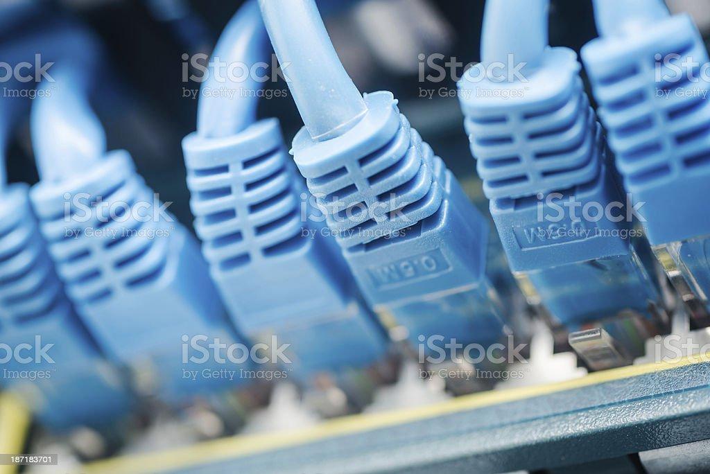 Server network panel royalty-free stock photo