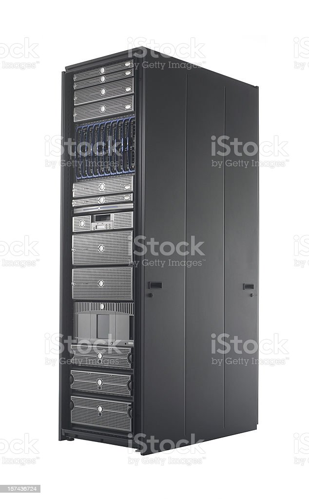 Server Rack royalty-free stock photo