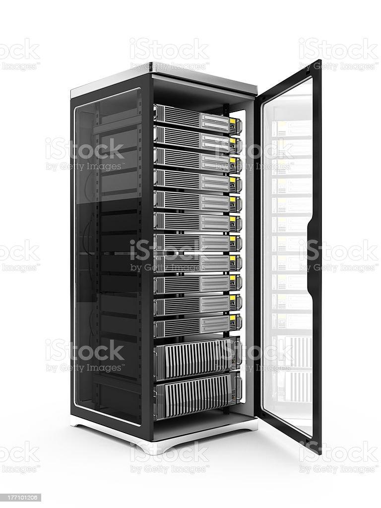 server rack royalty-free stock photo