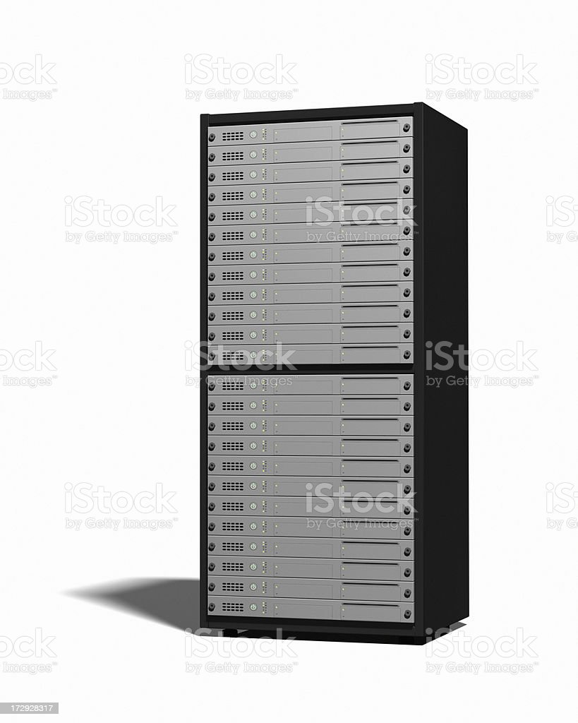 Server Rack XL royalty-free stock photo