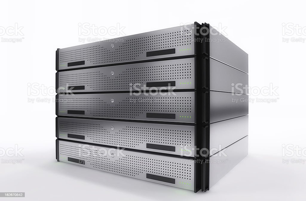 Servers Rack stock photo