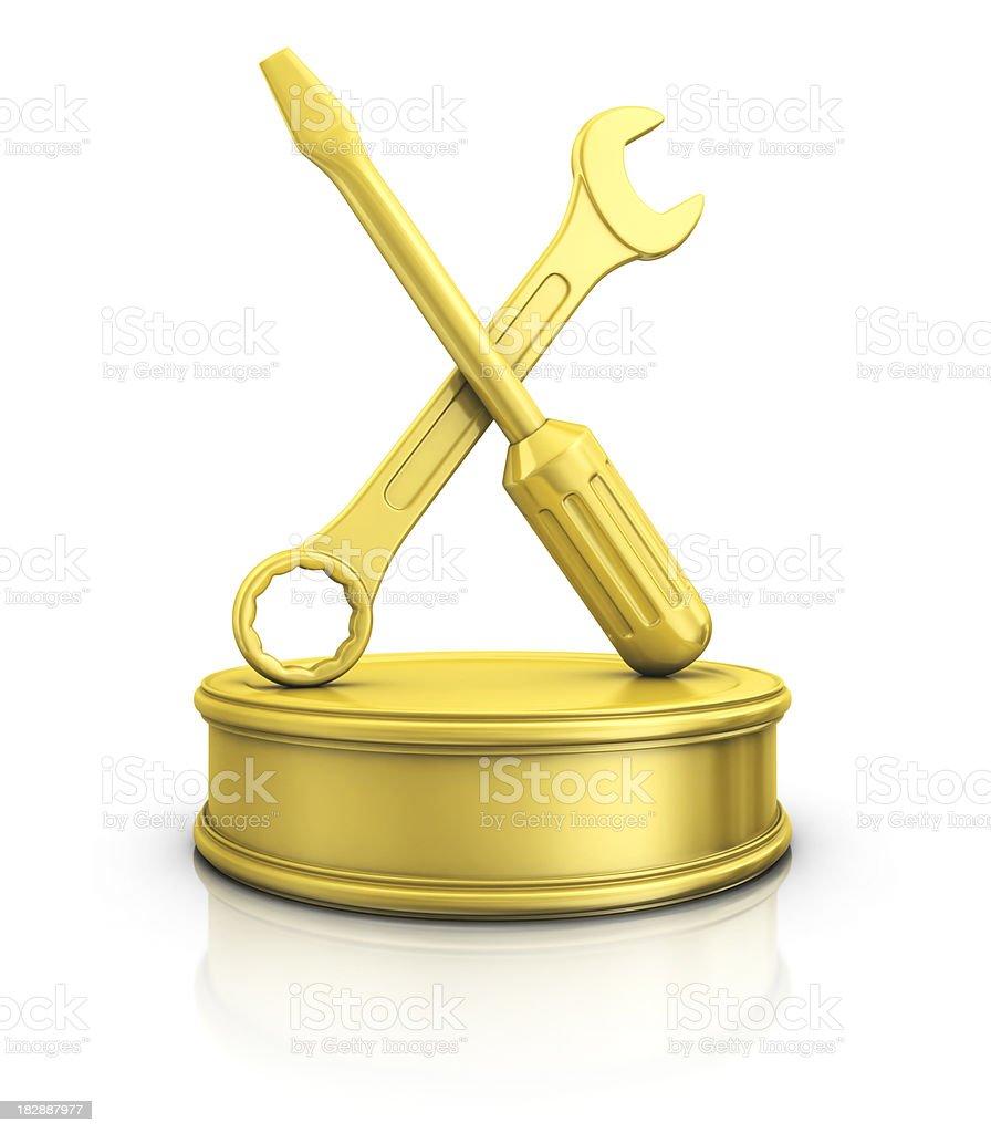 service award royalty-free stock photo