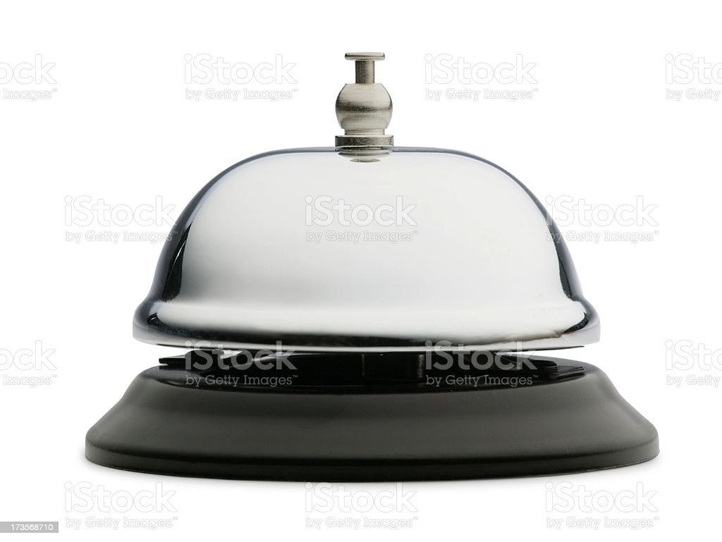 Service Bell 2 royalty-free stock photo