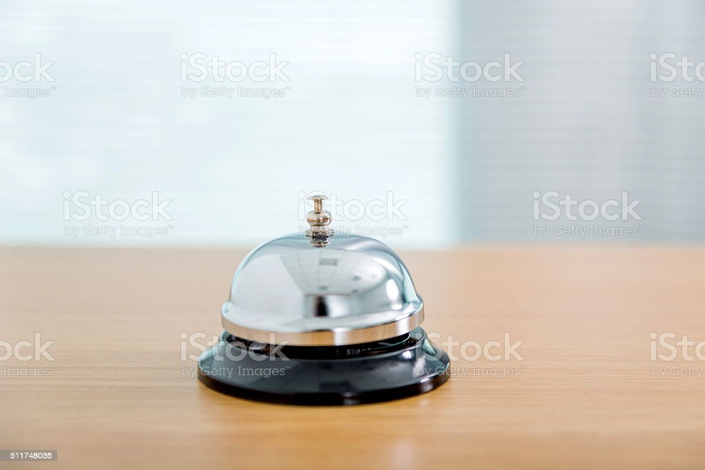 Service bell stock photo