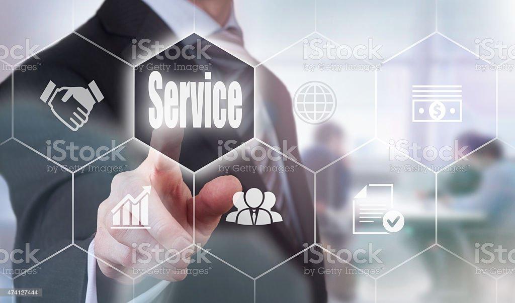 Service Concept stock photo