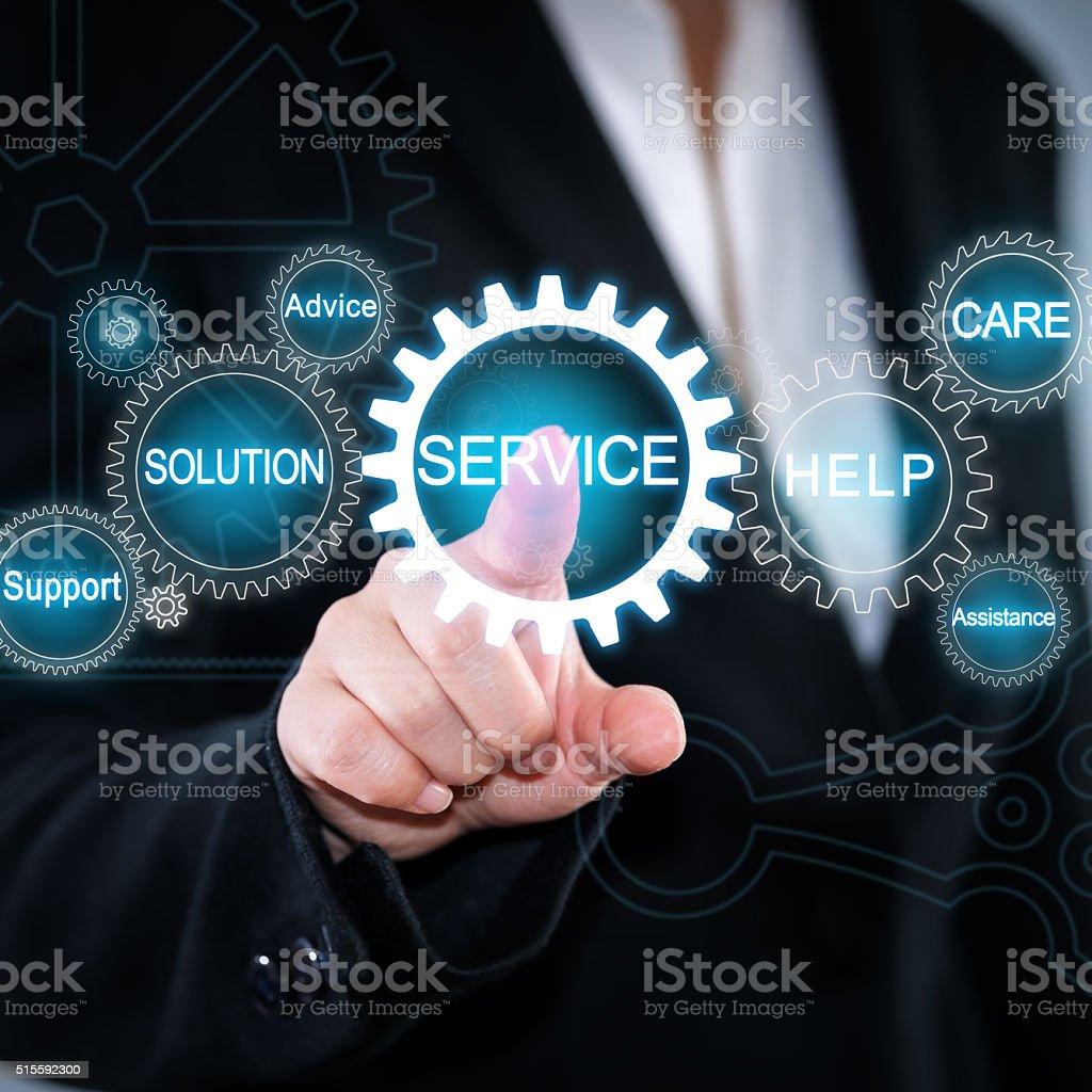 Service Concepts stock photo