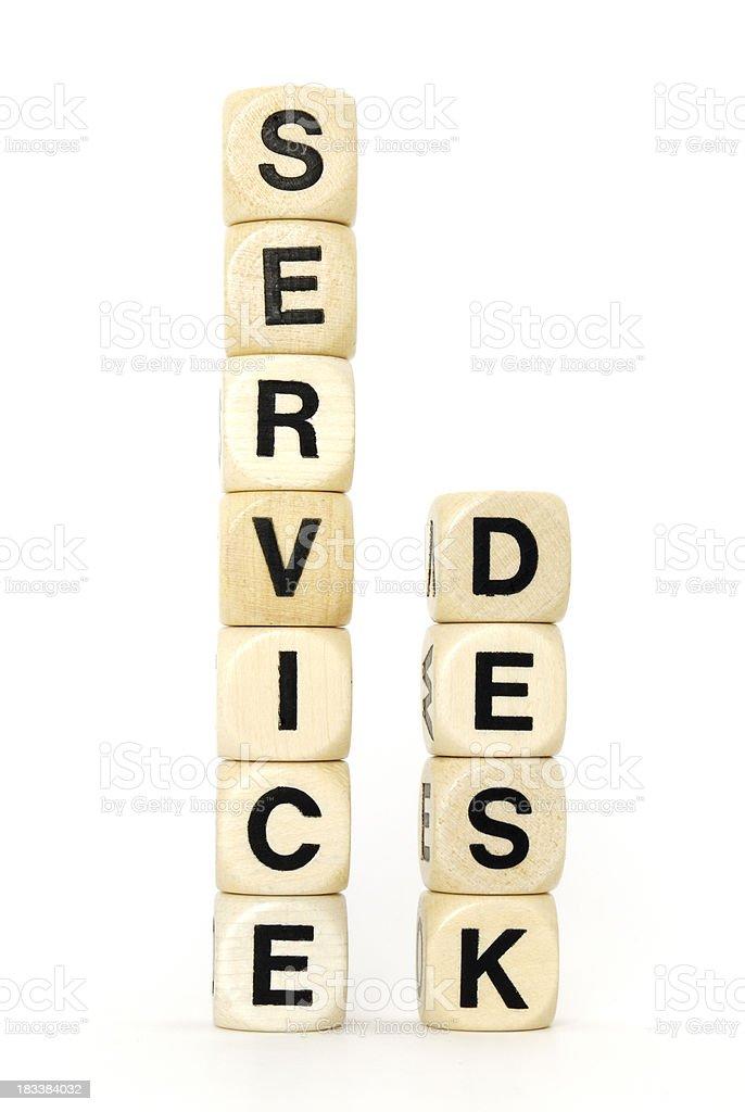 service desk royalty-free stock photo