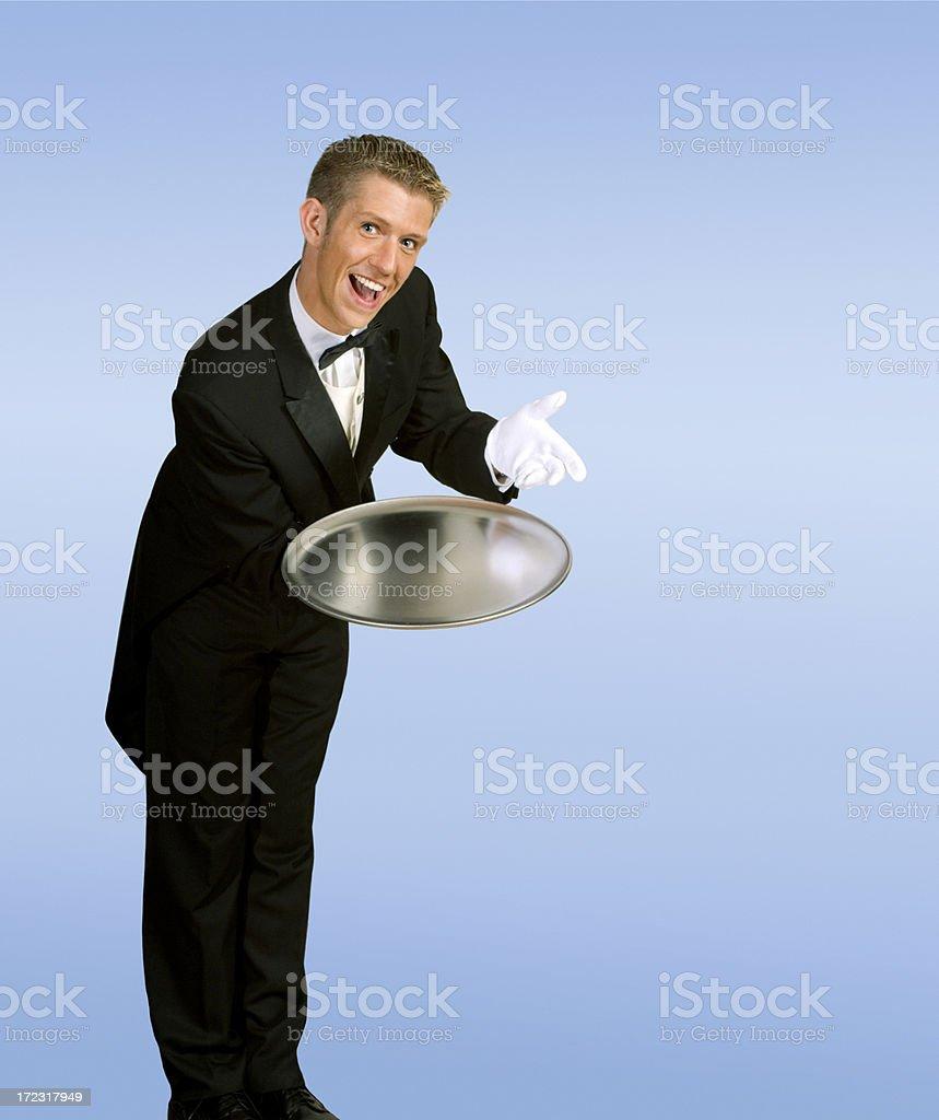 Service Display royalty-free stock photo