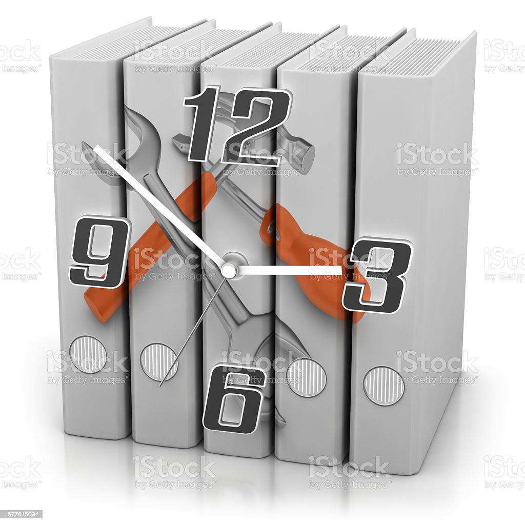 Service Documentation stock photo
