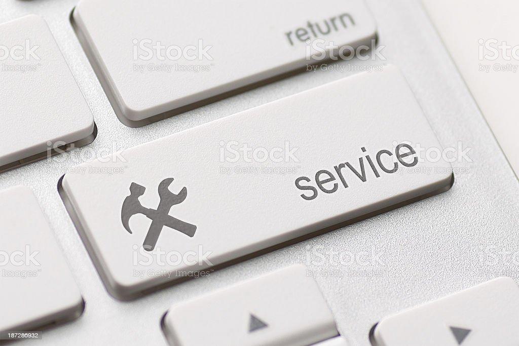 service enter key stock photo