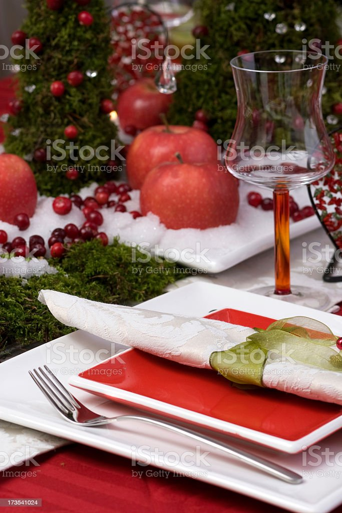 service of the table royalty-free stock photo