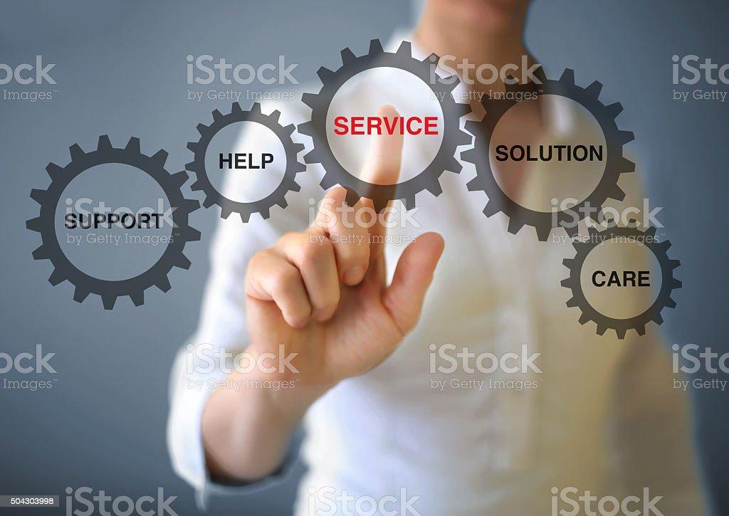 Service stock photo