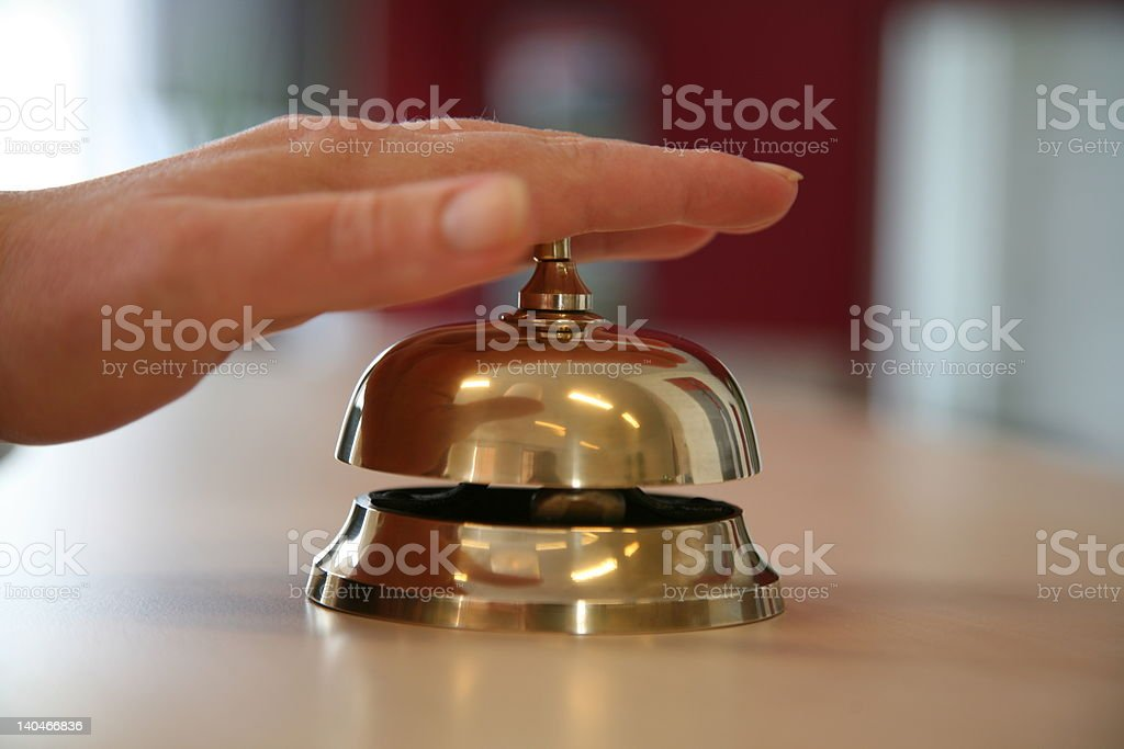 Service please... stock photo