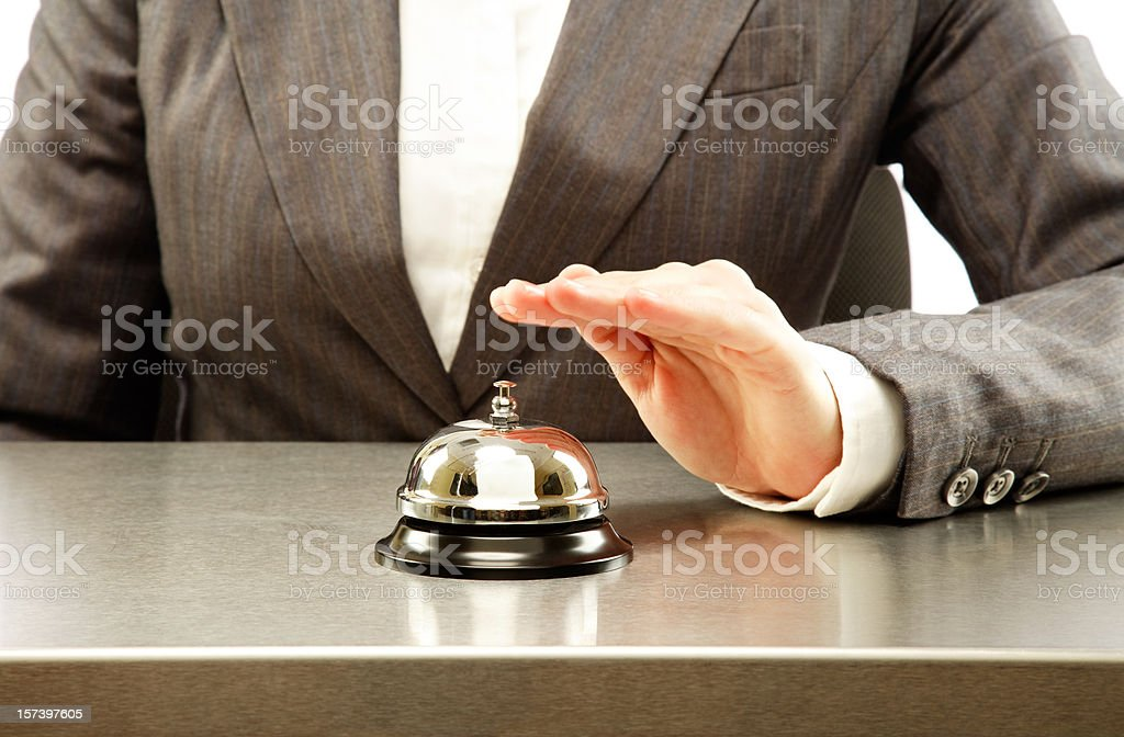 Service Please royalty-free stock photo