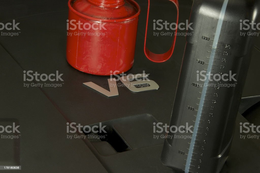 Service Time royalty-free stock photo