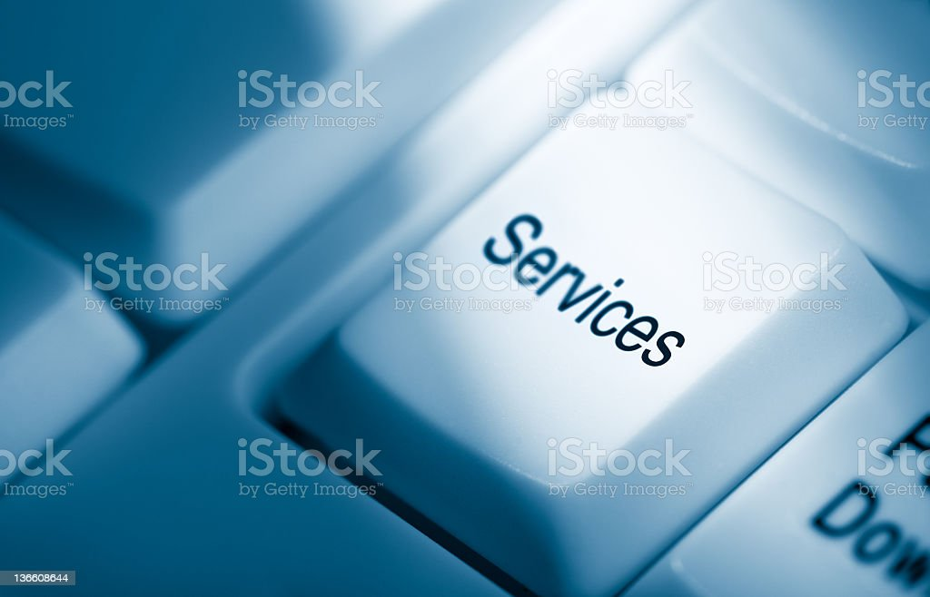 Services royalty-free stock photo