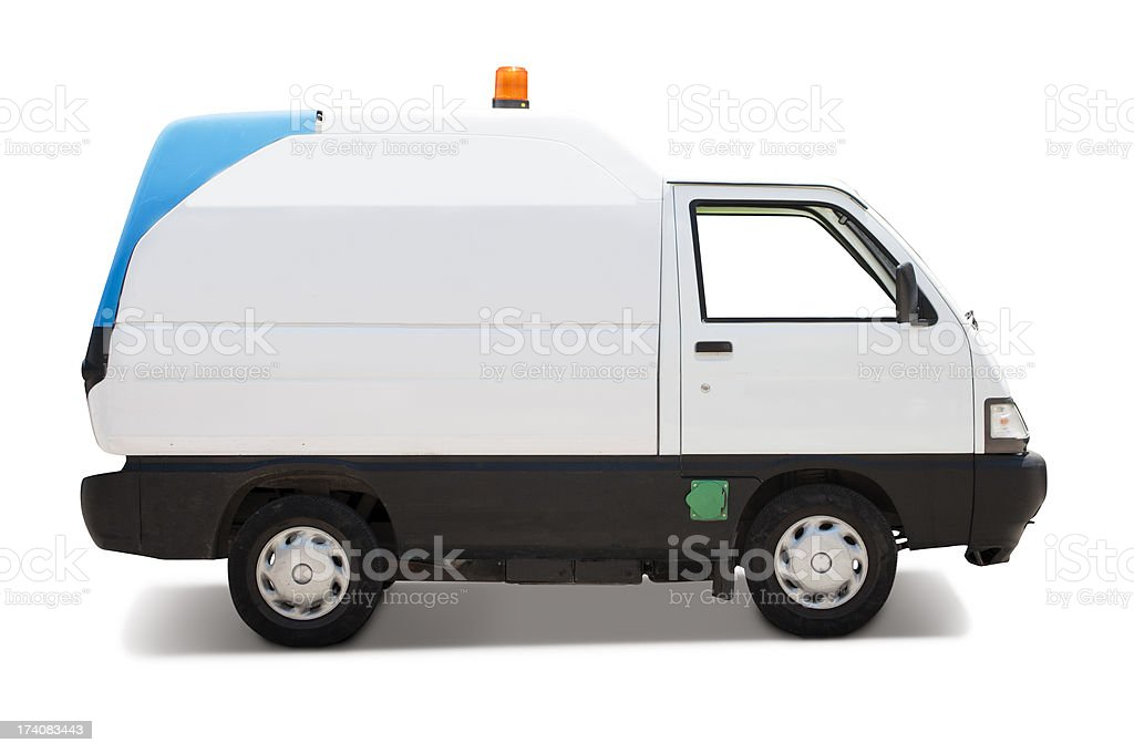 Services van stock photo