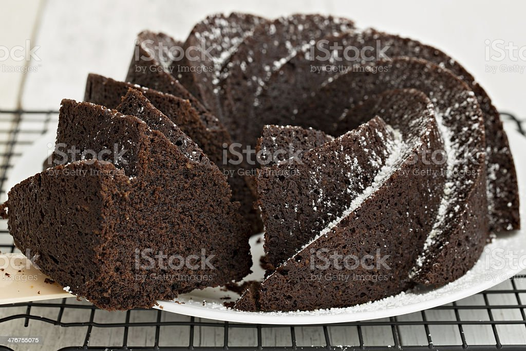 Serving A Slice Of Cake royalty-free stock photo