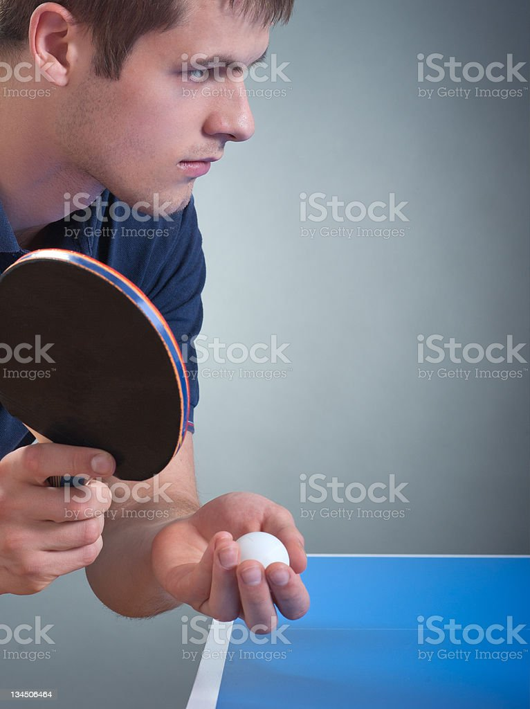 Serving stock photo